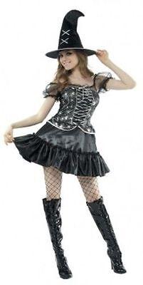 ADULT LADIES SPIDER WITCH HALLOWEEN FANCY DRESS - Spider Fancy Dress