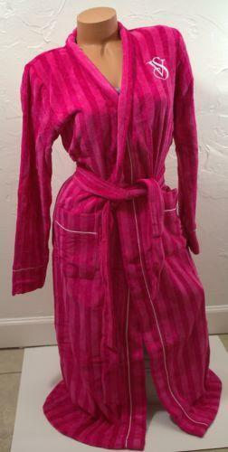 Terry Robe Pink Victoria Secret | eBay