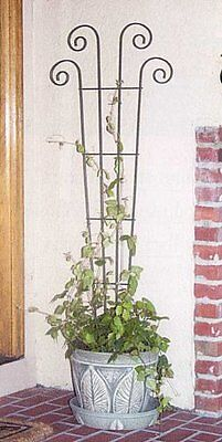 Panacea Products 48-Inch Wave Pot Trellis, Green ...