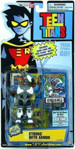 Teen Titans Toys Action Figures : Teen titans cyborg action figures ebay