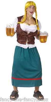 Herren Miss Oktoberfest Bier Stepp Brust + Perücke Stag Do Kostüm Kleid - Miss Oktoberfest Kostüm