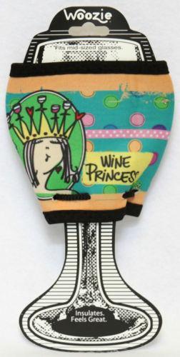 wine glass koozie