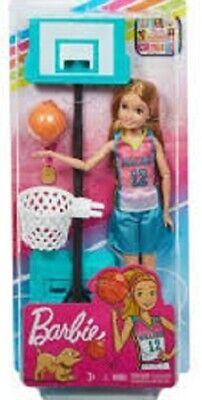 Barbie DreamHouse Adventures Basketball Doll Team Stacie GHK35