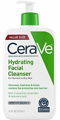 CeraVe Hydrating Facial Cleanser Normal to Dry Skin PACK OF