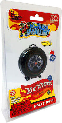 World's Smallest: Hot Wheels Mini World Super Rally Case (Includes 1car) [New To