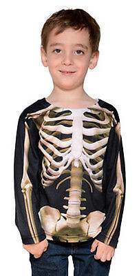 Faux Real Toddler Skeleton Halloween Ghoul Scary Costume Cute Baby Size 2T-4T