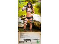 Tactical Girls Emili CZ Scorpion Signed Poster