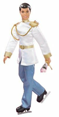 Disney Cinderella's PRINCE CHARMING ON ICE Doll - Includes Shoes & Ice Skates
