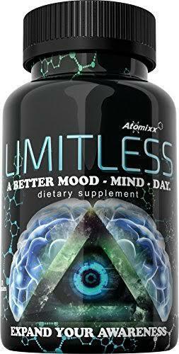 Limitless Pills 20ct Bottle Atomixx Blend   Mood Focus Anti Anxiety Stress Free