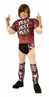 Daniel Bryan Costume (NWT Boys Medium (8) * DANIEL BRYAN MUSCLE CHEST * Halloween Wrestling)