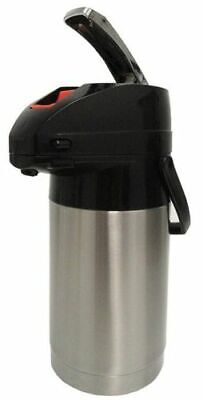 Holiday House Aps25s 2.5l Airpot Ss Finish Pump Lever Coffee Beverage Dispenser