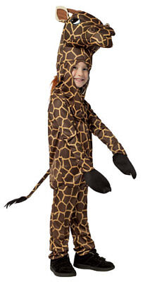 Toddler Giraffe Animal Halloween Costume sz 3T-4T