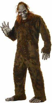 Big Foot Brown Faux Fur Costume - Bigfoot Halloween Kostüme