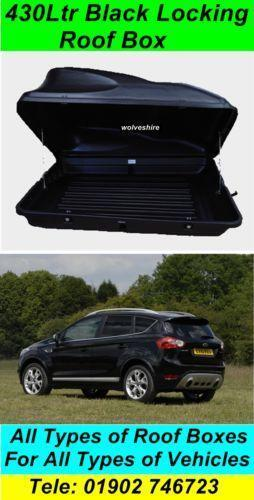 Ford Roof Box Ebay