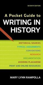 A Pocket Guide To Writing In History - $10.36