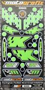 Kawasaki Race Decals