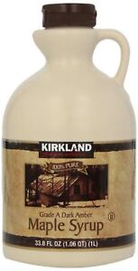 Canadian-Maple-Syrup-Kirkland-100-Pure-Grade-A-1-Litre-Amber