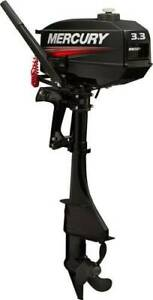 "3.3hp Mercury Outboard 2 stroke ""BRAND NEW WITH 6YRS WARRANTY"""