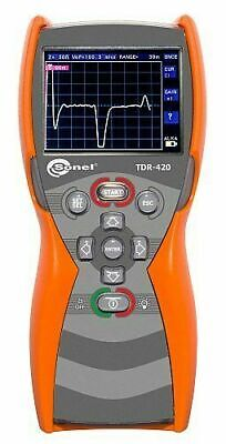 Sonel Tdr-420 Time Domain Reflectometer 6000m 1 Accuracy Tdr
