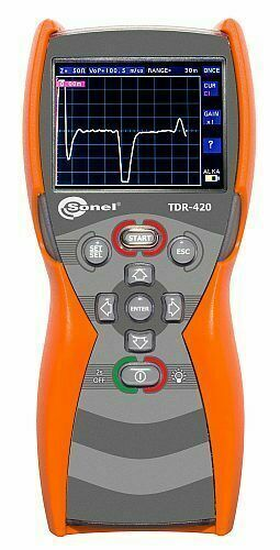 Sonel TDR-420 Time Domain Reflectometer  6000m 1% Accuracy TDR