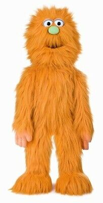 Silly Puppets Monster (Orange) 30 inch Puppet