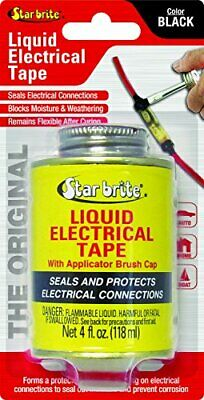 Liquid Electrical Tape Black Fluid Shrink Waterproof Outdoor Cord Wiring Sealant