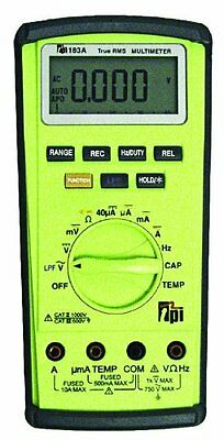 Tpi 183a True Rms Digital Multi-meter With Temperature Capacitance
