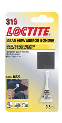 Loctite 319 Car Rear View Mirror Bonder- Glass & Metal Glue, Antenna Aerial (Loctite Rear View Mirror)