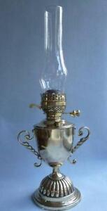 Victorian Br Oil Lamp