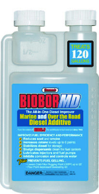 Marine Biobor MD Diesel Additive Improves Fuel Efficiency & Performance 16oz