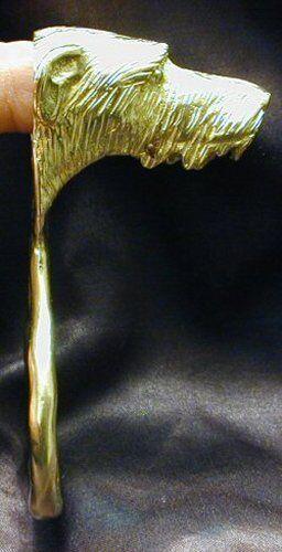 IRISH WOLFHOUND Bottle Opener in Bronze