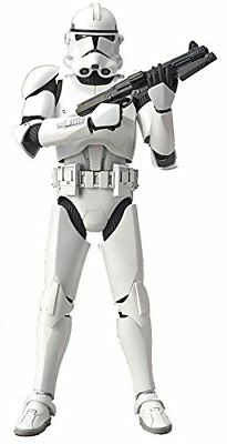 BANDAI Star Wars The Clone Trooper 1/12 scale model kit Plastic Model (Bandai Star Wars Clone Trooper Model Kit)