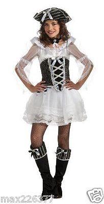 New Childs Pirate Dream dress & hat Halloween Costume child 4 - 6  - Dream Girl Pirate Costume