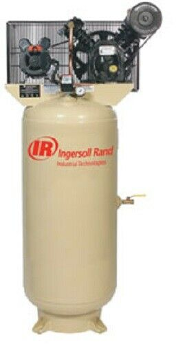 Ingersol Rand 5HP 230/1 2340L5-V Two Stage Cast Iron Air Compressor
