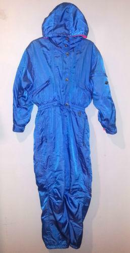 Vintage One Piece Ski Suit Ebay