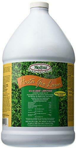 Medina 12-4-8 HastaGro Lawn, 1 gallon