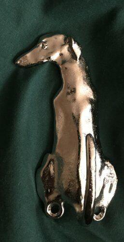 GREYHOUND Hook Nickel Plated