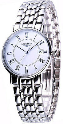 Longines L47204116 / L4.720.4.11.6 La Grande Classique Presence Men Steel Watch