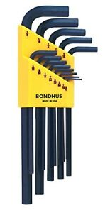 Bondhus 12137 Set of 13 Hex L-Wrenches - Brand New