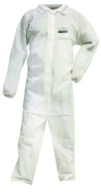Seachoice Boat Marine 3 Layer Sms Disposable Coveralls With Collar Size Xl