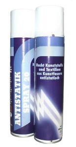 (12€/L)Antistatik-Spray farblos 400ml macht Kunststoffe Kunstfasern antistatisch