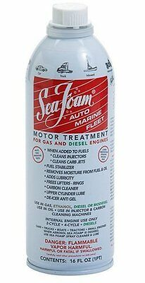 2 CANS - Sea Foam SF-16 Motor Treatment 16 oz GAS DIESEL