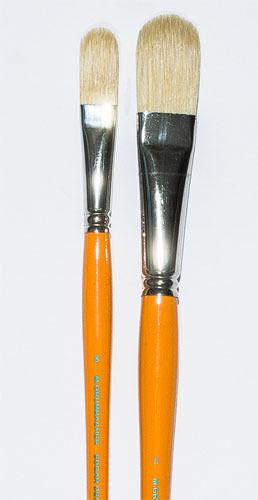 Grumbacher Filbert Brush Set Sizes 8 & 12 LIST $48 NOW $15.