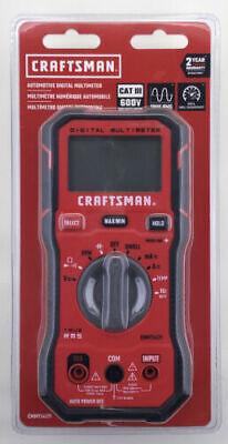 Craftsman Cmmt14171 Automotive Digital 600-volt Multimeter