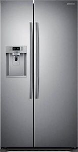 Samsung22.3 cu. ft. Side by Side Refrigerator in Stainless Stee