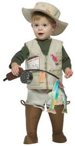 Future Fisherman Kids Toddler Costume size 18-24 Months