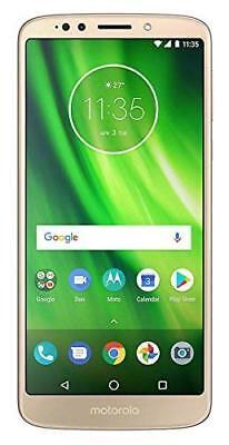 "Motorola Moto G6 Play XT1922-5 Dual Sim (FACTORY UNLOCKED) 5.5"" 32GB 3GB GOLD"