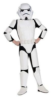 Rubies Kinder Deluxe Stormtrooper Star Wars Halloween Cosplay Kostüm 883035 (Star Wars-halloween Kostüme Kinder)