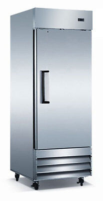 Commercialreach In Stainless Refrigerator Cooler 19 Cu. Ft Slime Size Economy