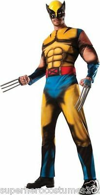 Classic Wolverine Costume (Wolverine Classic Muscle Adult Costume Marvel Comics X-Large New Rubie's)